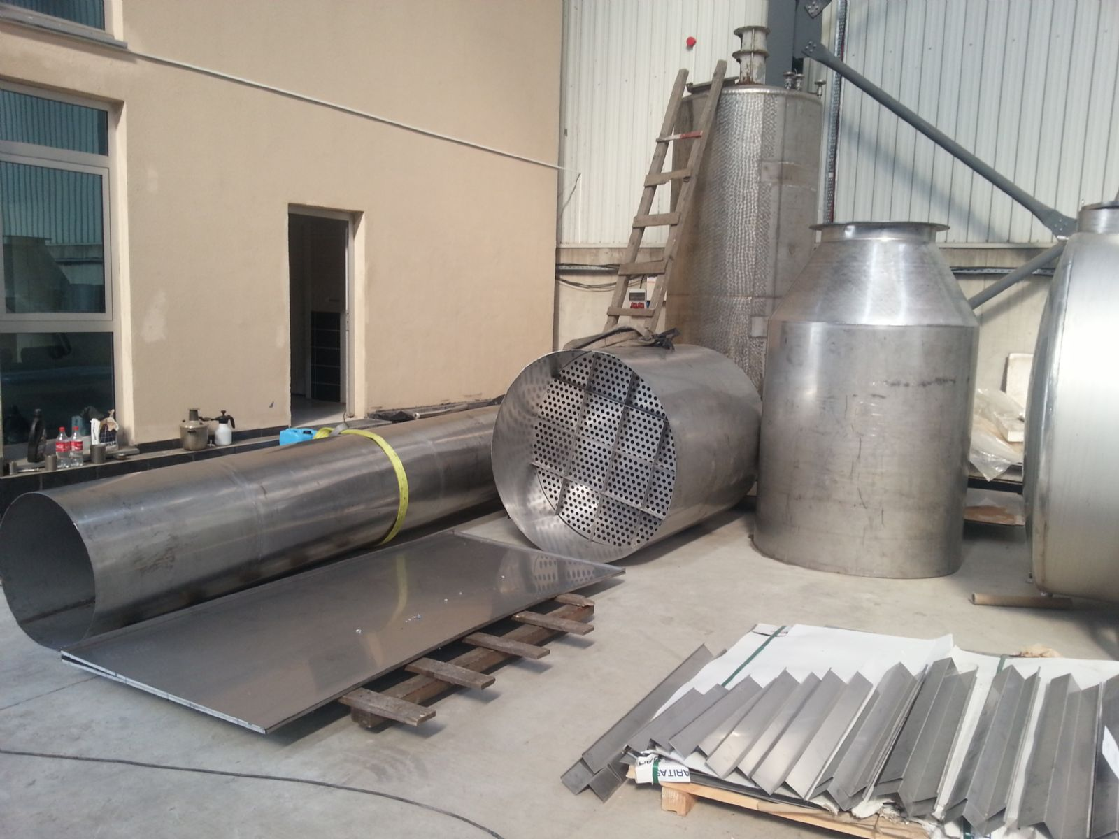Paslanmaz Tank, Steanless Steel Tank