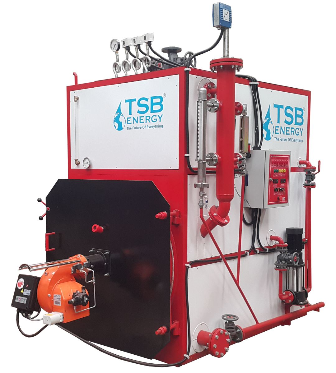 Steam Generator, Steam Boiler, Steam Producer, TSB ENERGY, Universal Steam Generator